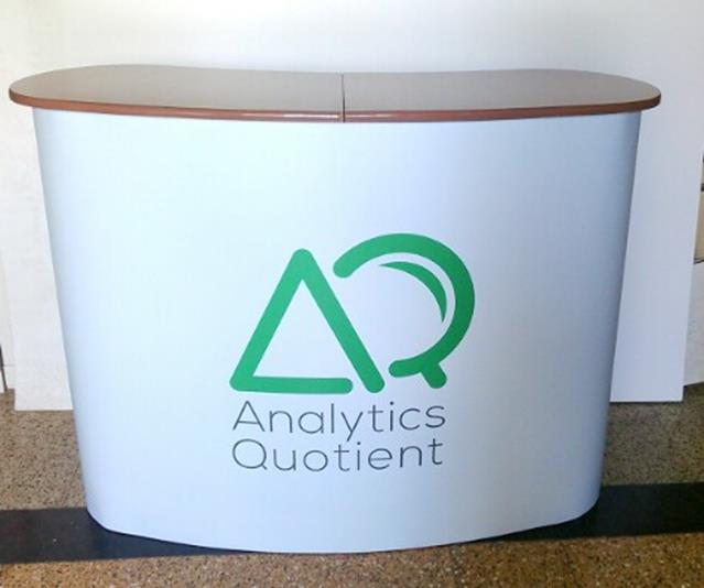 Curved Magnetic Popup Reception table